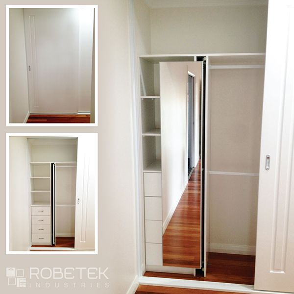 FENG SHUI WARDROBE IDEA u2013 a built in, pull out mirror. Want a full