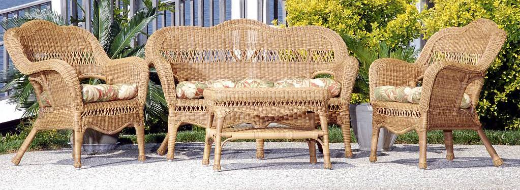 Sahara All Weather Resin Wicker Furniture Set - CDI-001-S/4