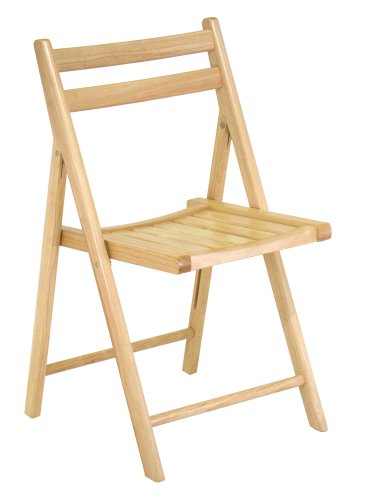 Amazon.com - Winsome Wood Folding Chair, Natural, Set of 4 - Chairs