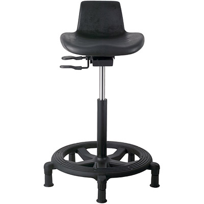 Office Master WS15 Affordable Sit-Stand Work Stool