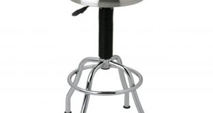 Stainless Steel Pneumatic Work Stool - Walmart.com
