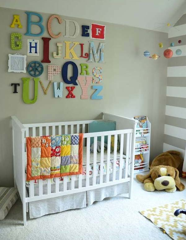 22 Terrific DIY Ideas To Decorate a Baby Nursery - Amazing DIY