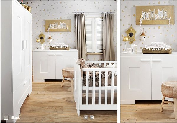 18 Beautiful Babies Room Ideas by Kidsfactory