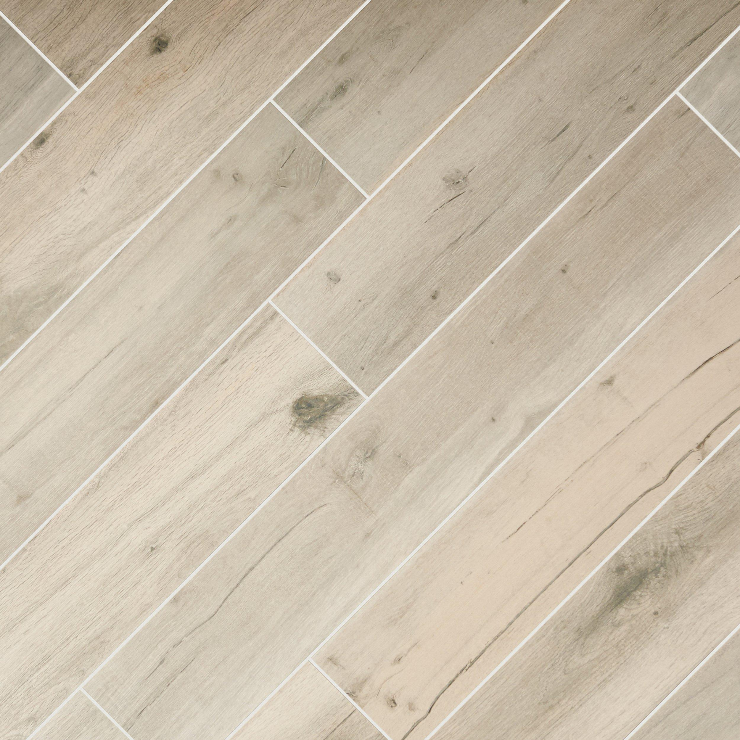 Birch Forest Gray Wood Plank Porcelain Tile - 6 x 36 - 100063999