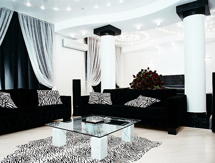 Black Leather Sofa Sets Inspiring Ideas for Living Room - hgnv