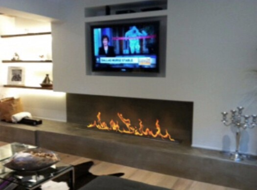 on sale 48 inch electrical remote control bio ethanol fireplace -in