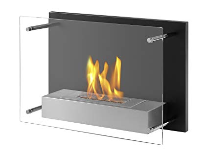 Amazon.com: Ignis Senti Ventless Wall Mounted Bio Ethanol Fireplace