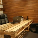 Euro pallets desk- cheap and different