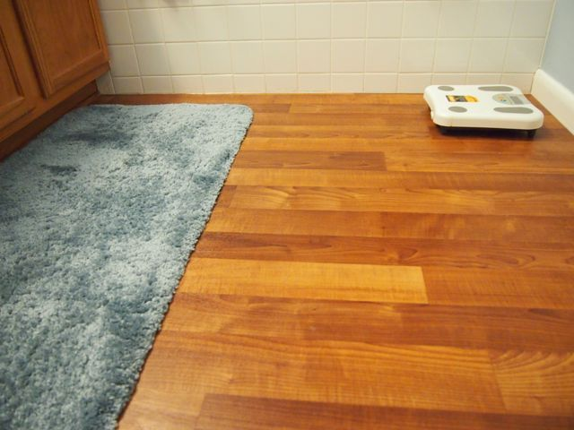 Bathroom Linoleum Flooring Replacement Project: 9 Steps (with Pictures)