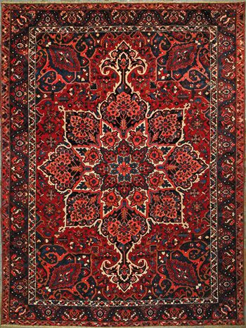 Variety of Oriental rugs for the floors of the dinner, then a
