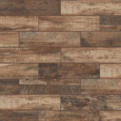 Flooring wooden tiles