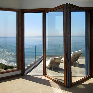 Folding doors – a way to save space