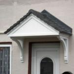 Front door canopy