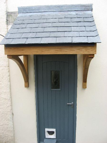 Quality Woodworks » Oak door canopy and Front door u2026 | Home
