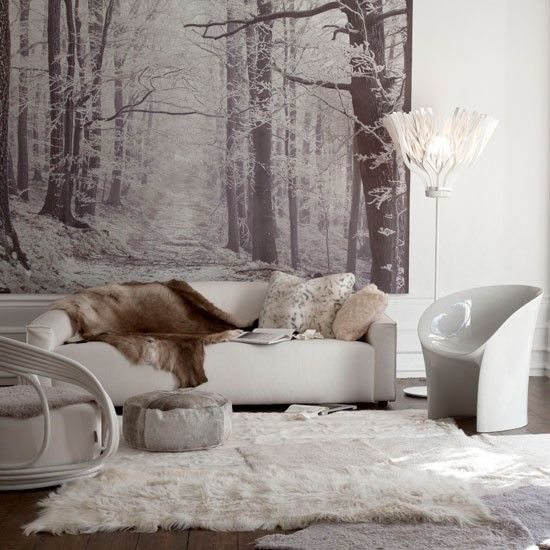 17 Irreplaceable Ideas How To Use Faux Fur In Your Interior Design