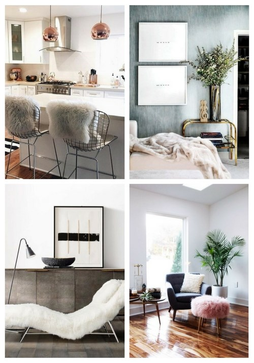 Setting up with fur: The eye-catcher in every home