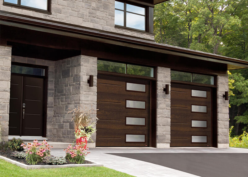 Contemporary Garage Doors | Garaga
