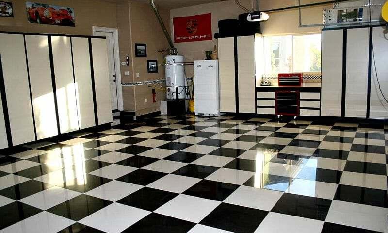 The Benefits of Porcelain Garage Floor Tile | All Garage Floors