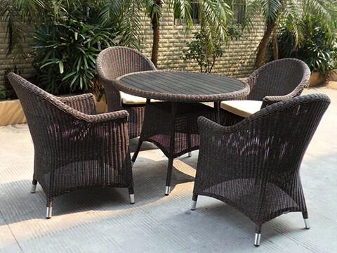 Commercial Restaurant Dining Set KRDS603 - KR Outdoor Furniture