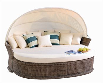 Italy Outdoor Furniture Made In China,Curved Rattan Sofa,Poly Rattan
