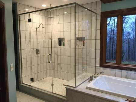 Bathtub and Shower Enclosures -Elkins, WV | Talbott Glass, LLC