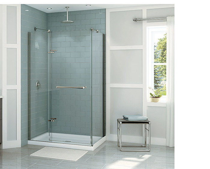 Choosing a Glass Shower Door - Fine Homebuilding