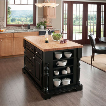 Kitchen Carts, Kitchen Islands, Work Tables and Butcher Blocks with