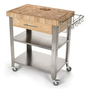 Butcher Block Kitchen Islands & Carts You'll Love | Wayfair