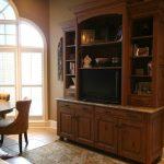 Living room cupboards