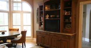 Classic Cupboards Cabinetry for Living Spaces - Traditional - Living