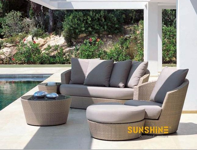 Garden Lounge Sofa - Outdoor Furniture|Modern Rattan furniture|Patio