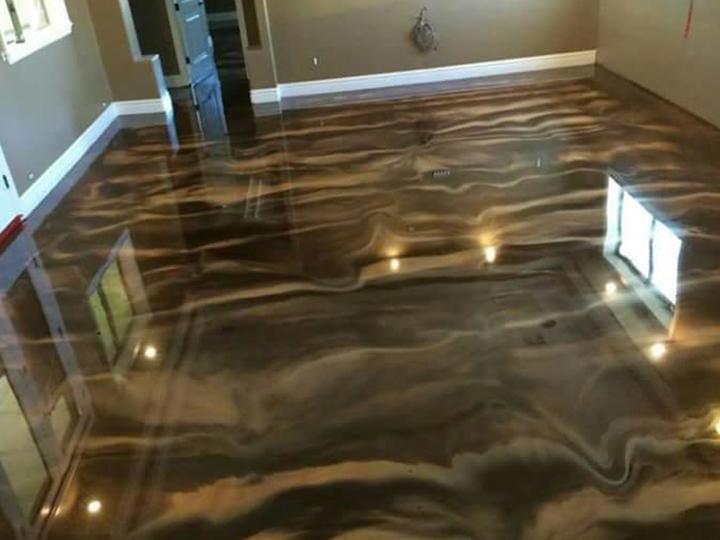 Original Metallic Floors as per European Standard's in Lahore and
