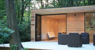 In.It.Studios' Prefab Garden House is a Modern Small Space Tucked