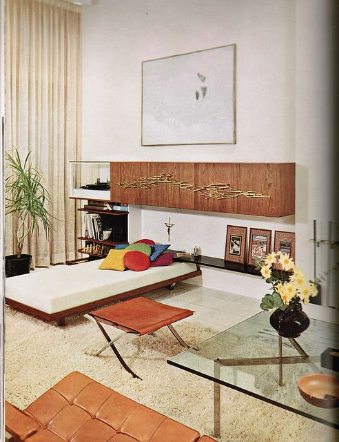 1960 House and Garden Complete Guide to Interior Decoration, via