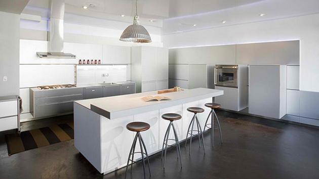 18 Modern White Kitchen Design Ideas | Home Design Lover