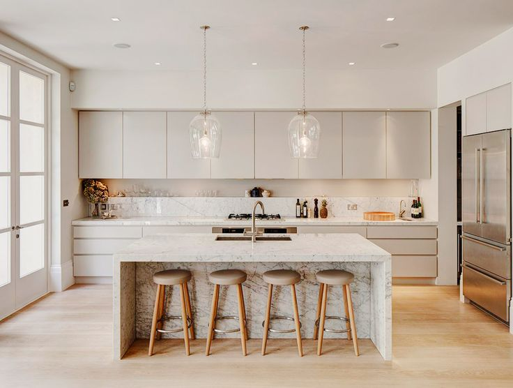 19 of the Most Stunning Modern Marble Kitchens | Kitchens