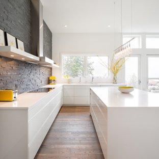 75 Most Popular Modern White Kitchen Design Ideas for 2019 - Stylish