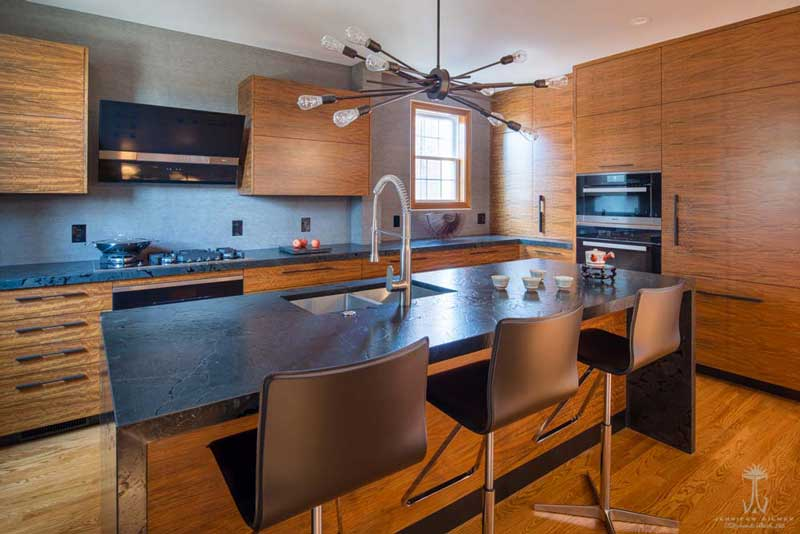 Modern Wood Kitchen Design in Washington, D.C.