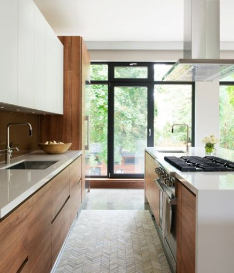 15 Trendy-Looking Modern Wood Kitchens - Shelterness
