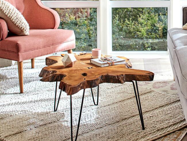 Natural Rustic Wood Furniture: 7 Best Pieces for Organic Style | SPY