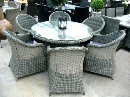 Polyrattan Lounge Set Set Poly Rattan Garden Set Glass Top Table And