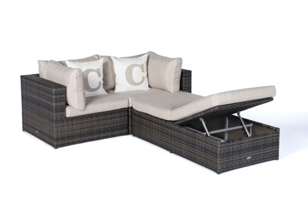 Rattan Lounge Garden Furniture Special - Seating group and Sofa