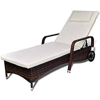 Amazon.com : Festnight Outdoor Patio Chaise Lounge Chair Adjustable