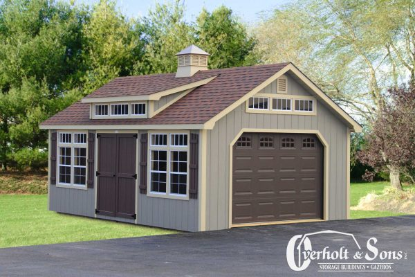 Prefabricated Garage from Overholt & Sons in KY & TN (2019