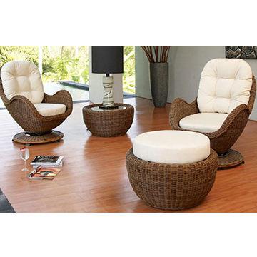 China Rattan Sofa Set Outdoor Sofa PE Rattan Furniture on Global Sources