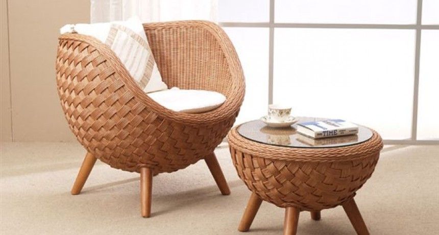Easy Rattan Chair: Wicker and Rattan Furniture Singapore