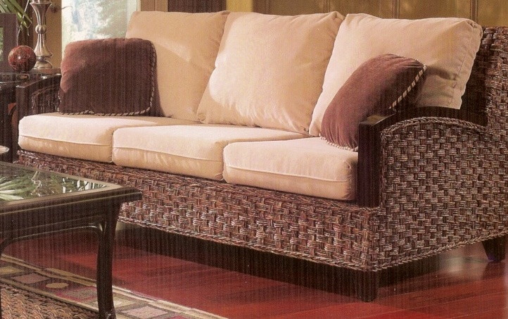 Rattan Sleeper Sofa - Kensington