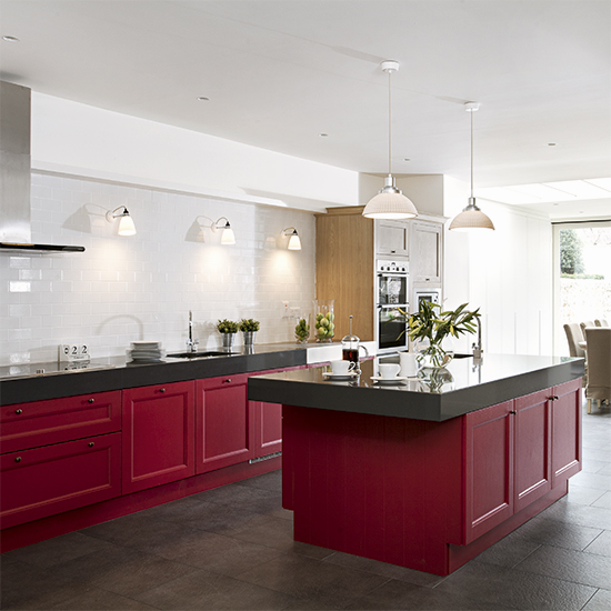 Red kitchen colour ideas - home trends | Ideal Home