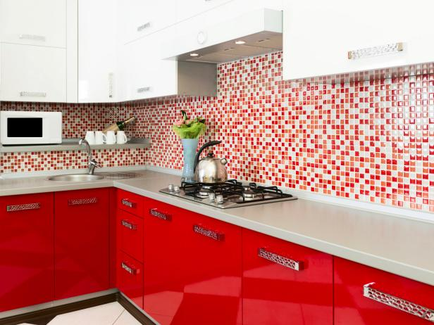 Red Kitchens: Design Tips & Pictures of Colorful Kitchens | HGTV