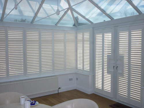 Full Height - Cheshire Shutters, Plantation Shutters, Wooden